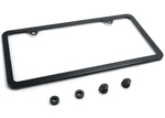 Black Powder Coated Camisasca License Plate Frame