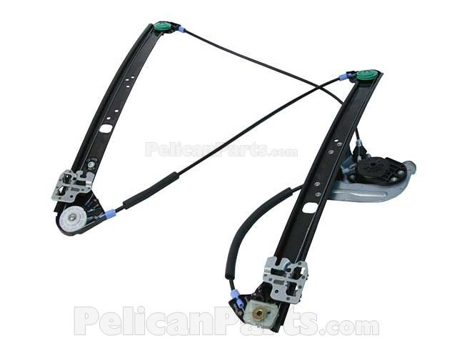 URO Parts 51 33 8 254 912 Front Right Window Regulator without Motor