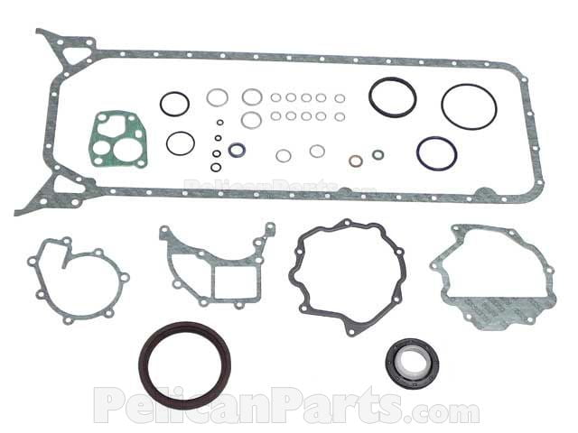 Mercedes Benz 300SDL 300D 300TD 350SD 300SD S350 Elring Exhaust Manifold Gasket