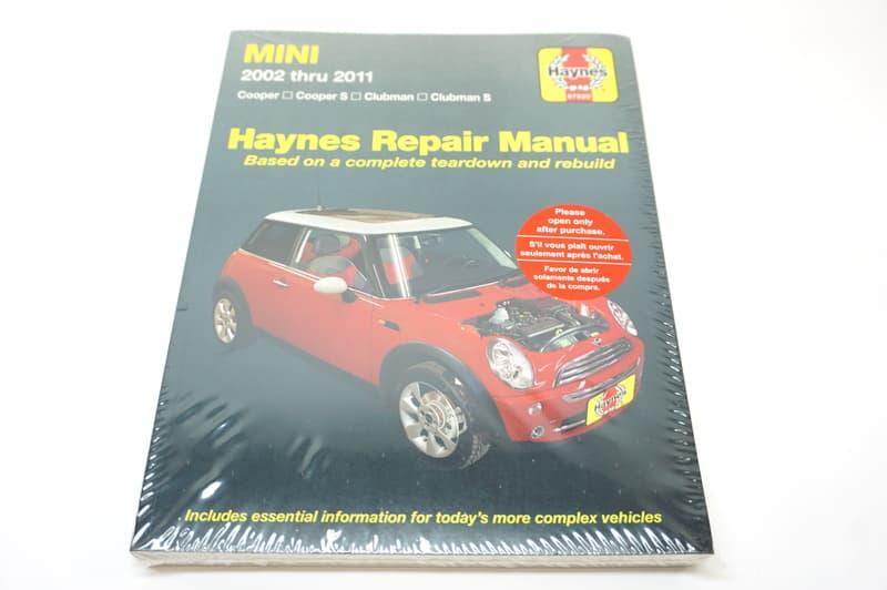Mini Cooper Cooper S And Clubman R55r56r57 Tools Books