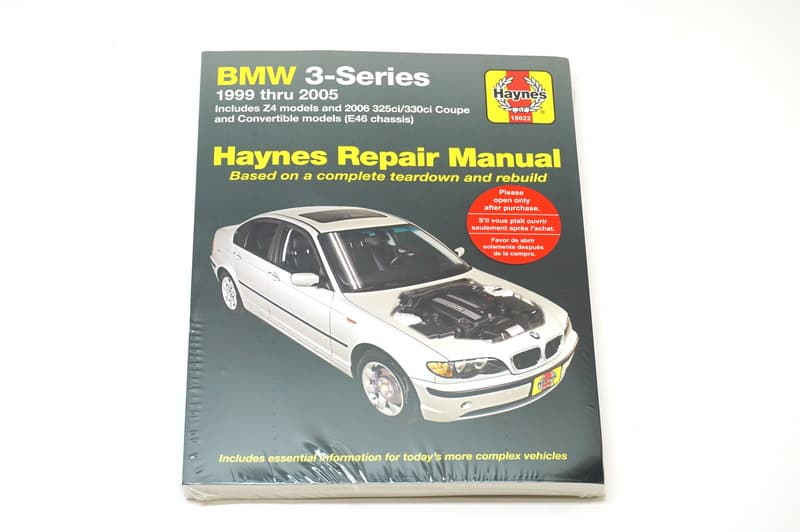 bmw e46 haynes manual