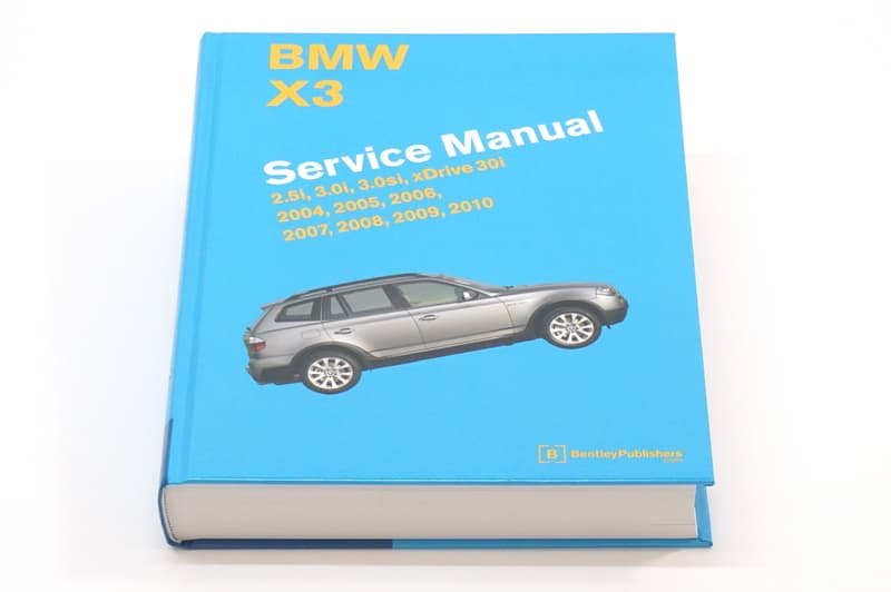bmw x3 e83 2004 2010 books technical documentation page 1 rh pelicanparts com owners manual bmw 325i owners manual bmw 328i 2013