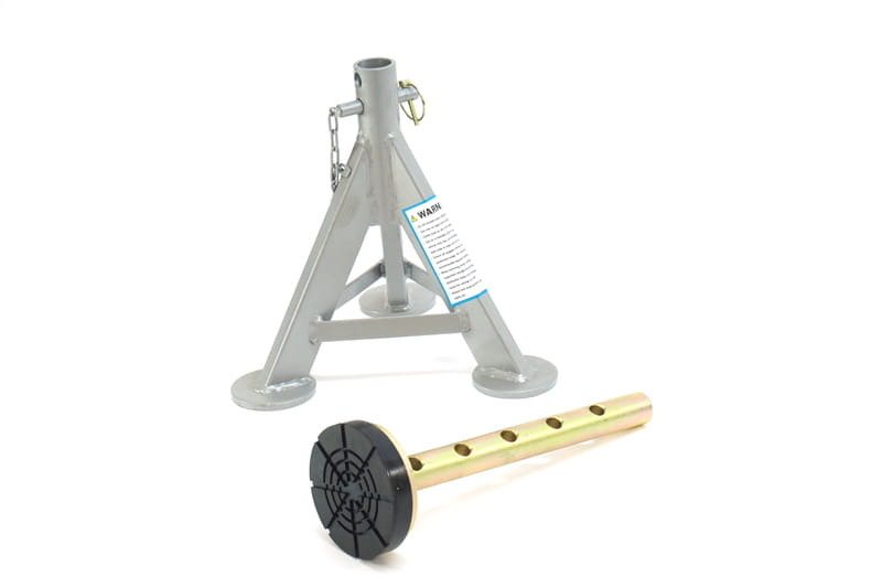 Flat Top Jack Stand With Rubber Pad Esco Tol 10498 1