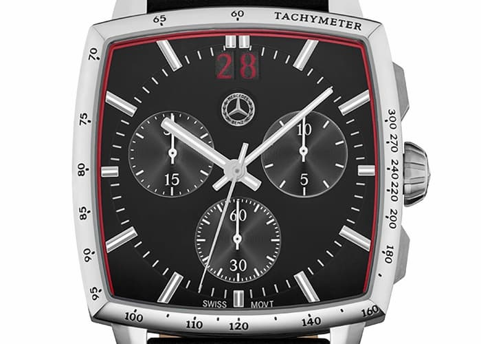 Men's chronograph watch, Heritage - Watches & gifts ... |Mercedes Benz Chrono Watches