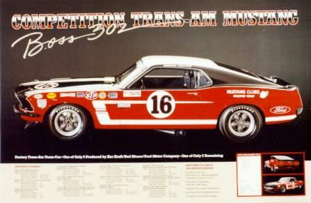 ford mustang boss 302 trans am 1969 pelicanparts com1969 Trans Am Ford Boss 302 Mustang #21